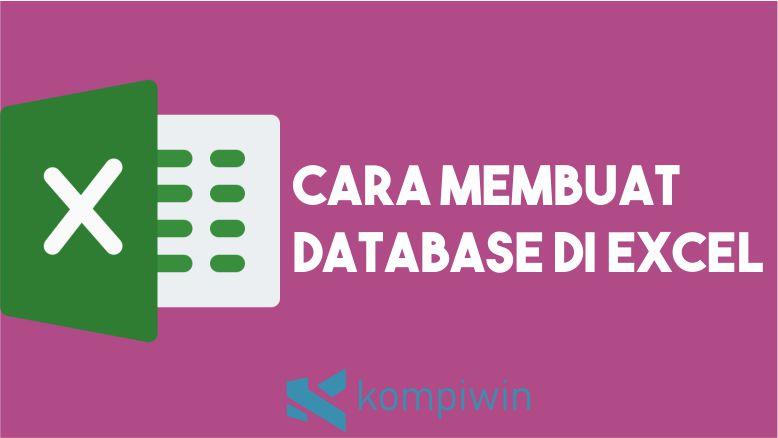 Lihat Cara Membuat Database Online Dengan Excel paling mudah