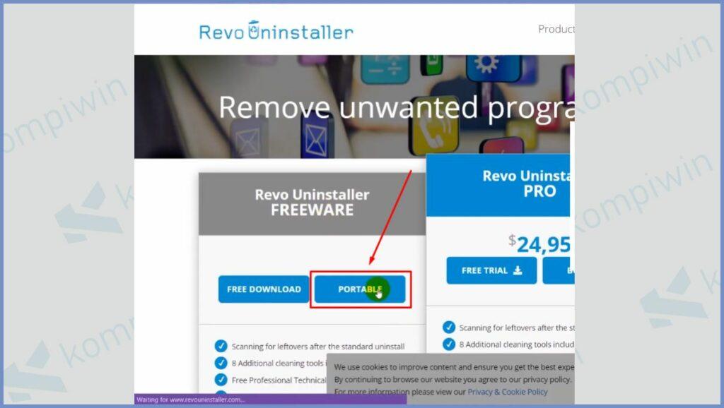 Download Revo Uninstaller Portable