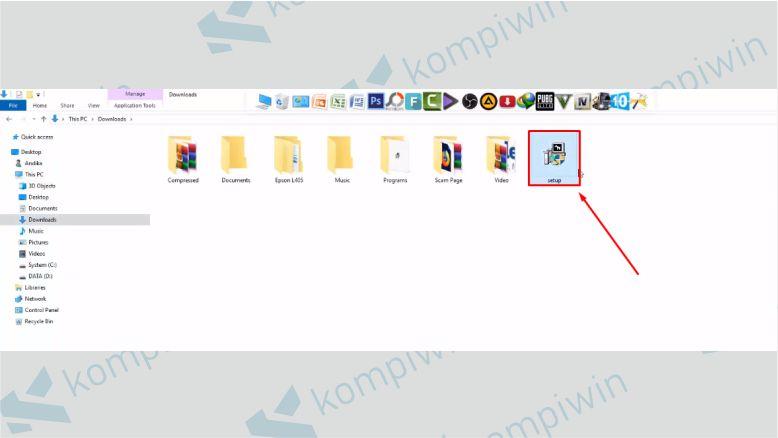 Install aplikasi Fraps