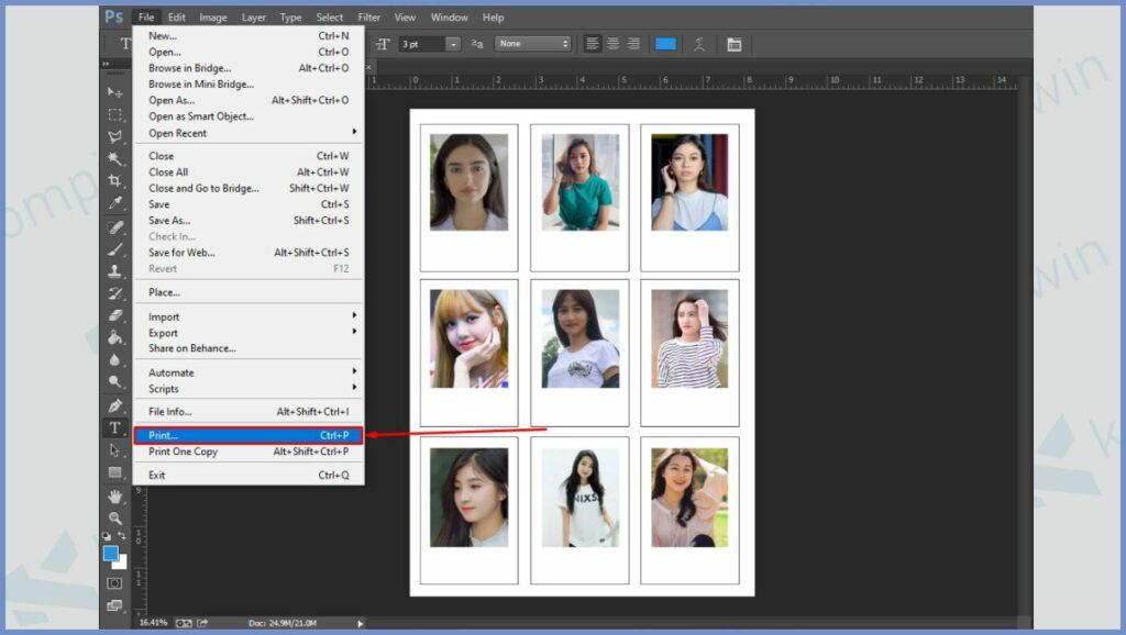 Mulai cetak foto polaroid