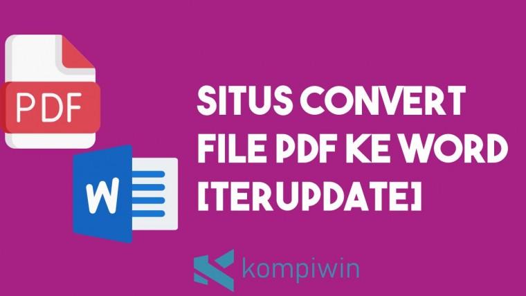 4 Situs Convert PDF ke Word 4