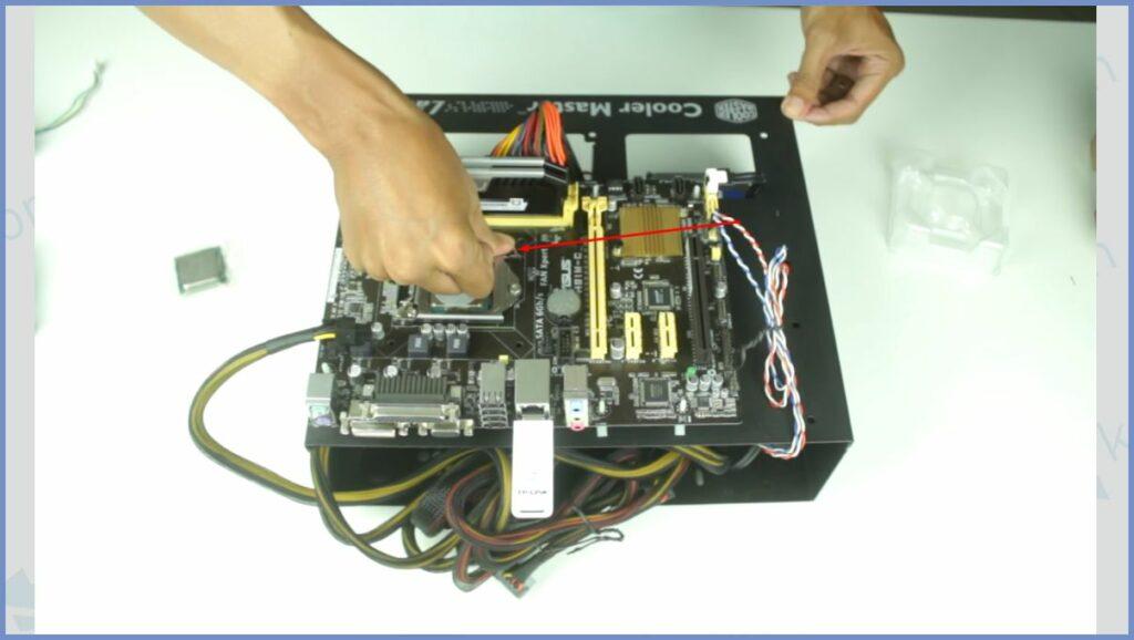 Tekan Pengunci Processor
