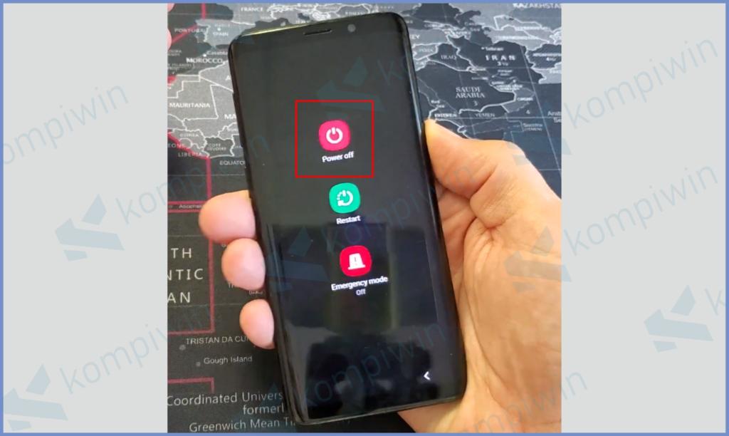 Tahan Tombol Power Lalu Tekan Matikan Ponsel