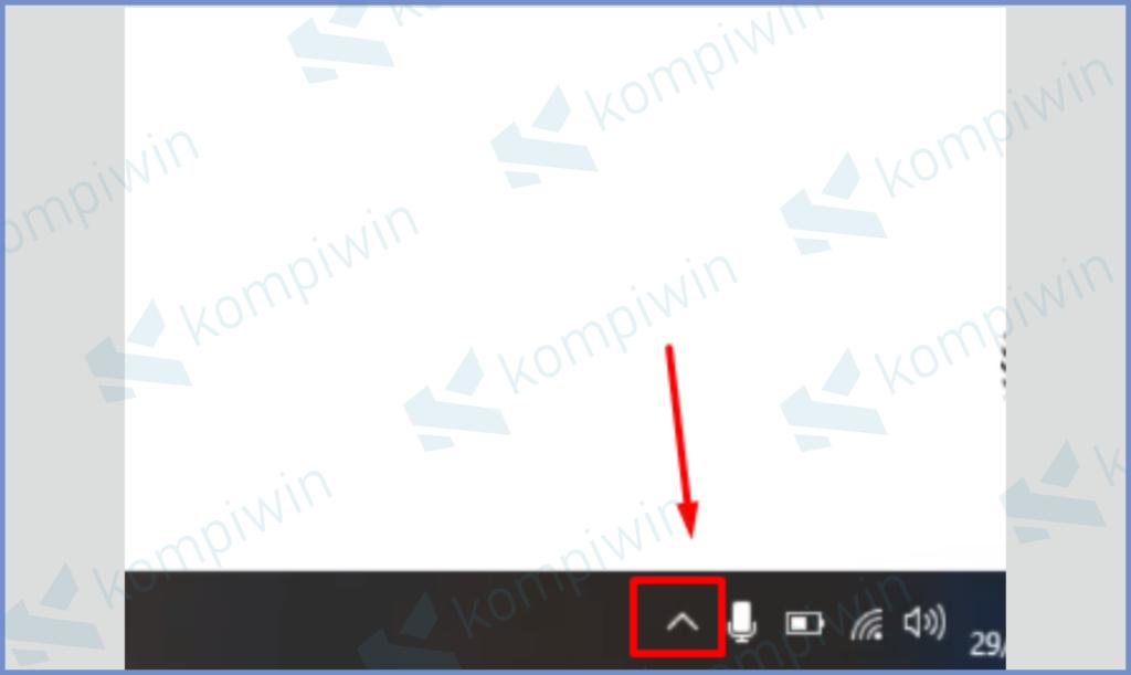 Ketuk Icon Tray Untuk Membuka Shortcut Smadav