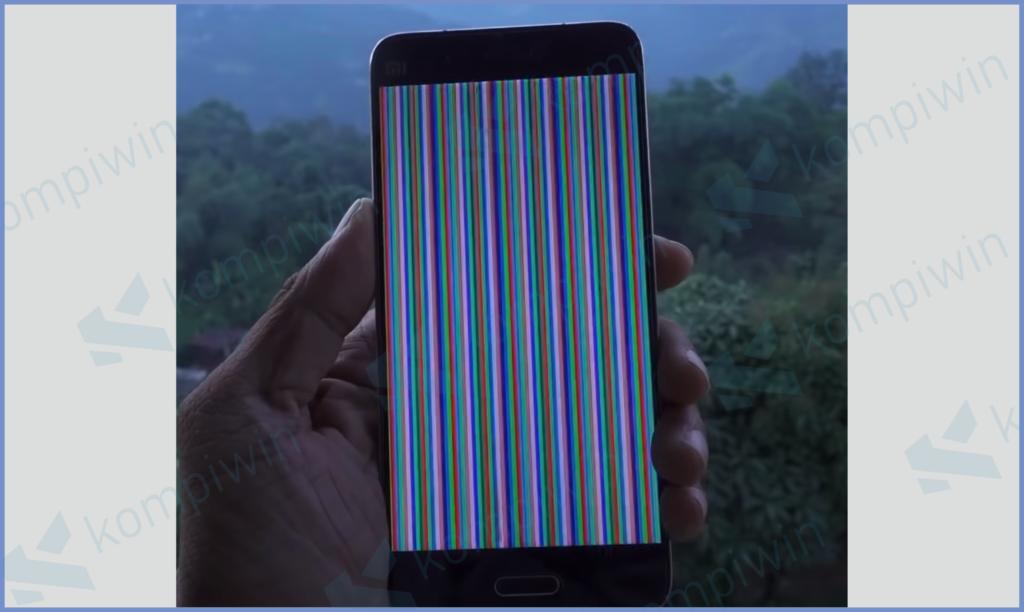 Proses Memperbaiki Pixel HP