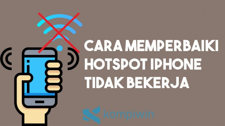 Cara Memperbaiki Hotspot iPhone Tidak Bekerja 6