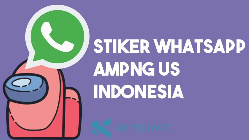 Stiker WhatsApp Among Us