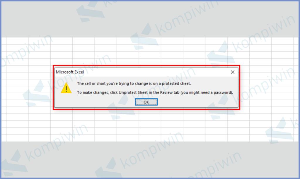 Buka Excel Yang Terproteksi