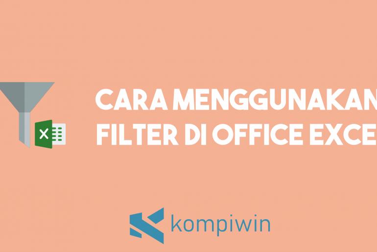 Cara Filter Di Excel 2
