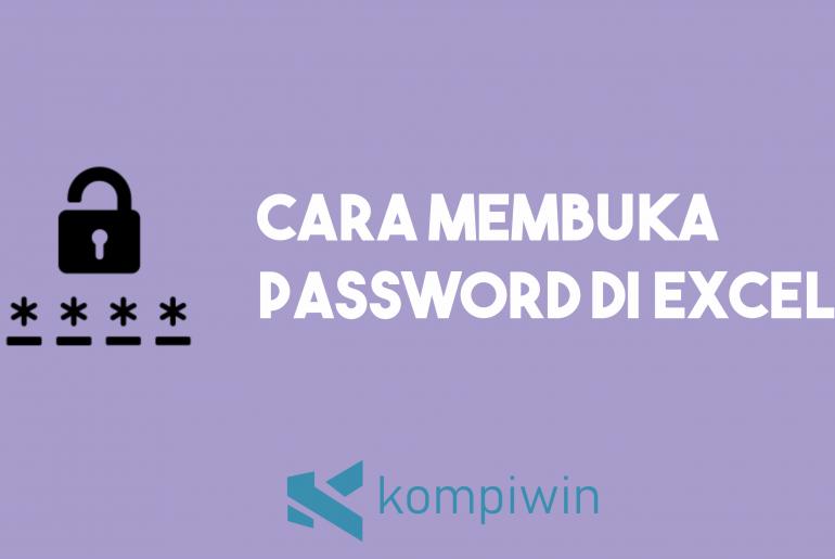 Cara Membuka Password Excel 13