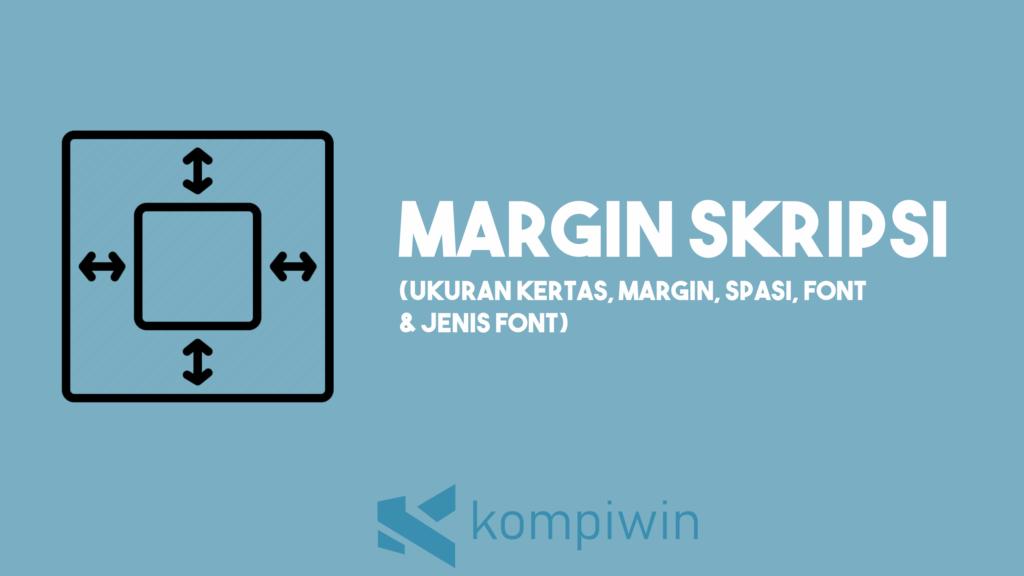 Margin Skripsi 1