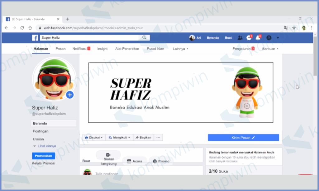 Membuat Toko Online Di Facebook