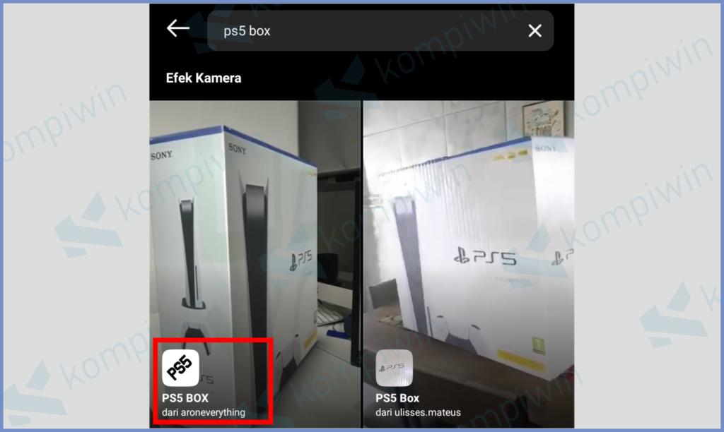 Pilih Filter PS5 Box