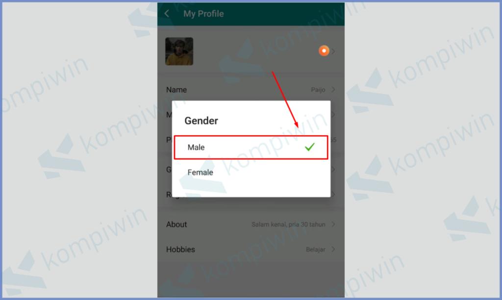 Ubah Gender Sebaliknya