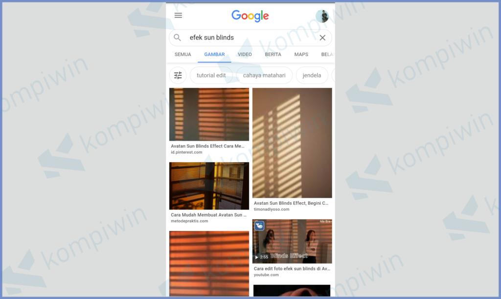 Bisa Cari Referensi Sub Blinds Di Google