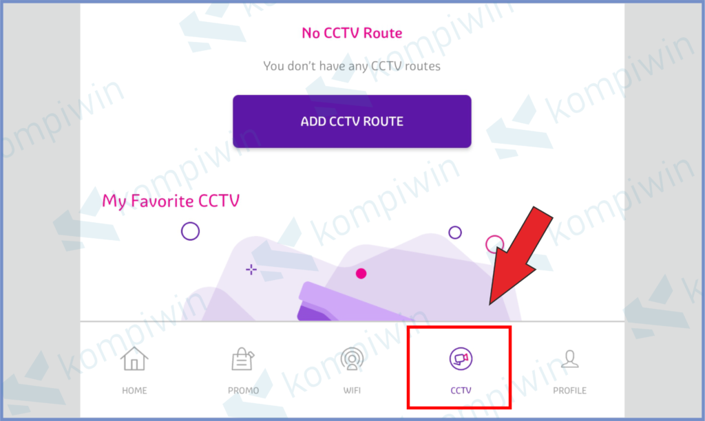 Buka Sub Menu CCTV Untuk Melihat Orang Secara Live
