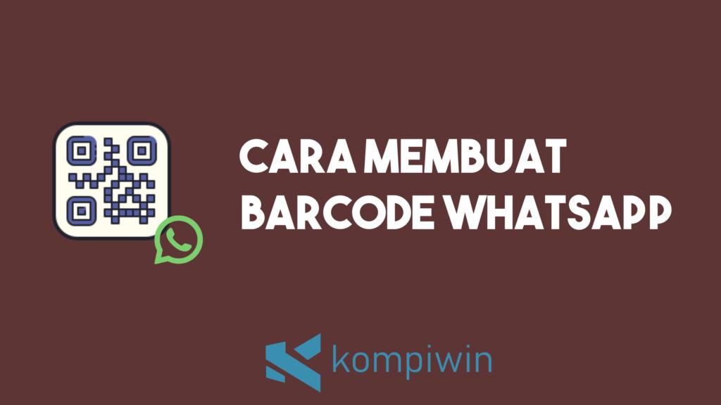 Cara Membuat Barcode WhatsApp 7