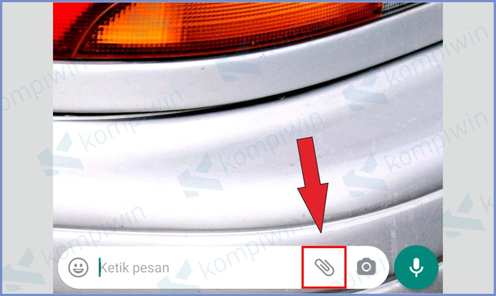 Klik Icon Lampiran
