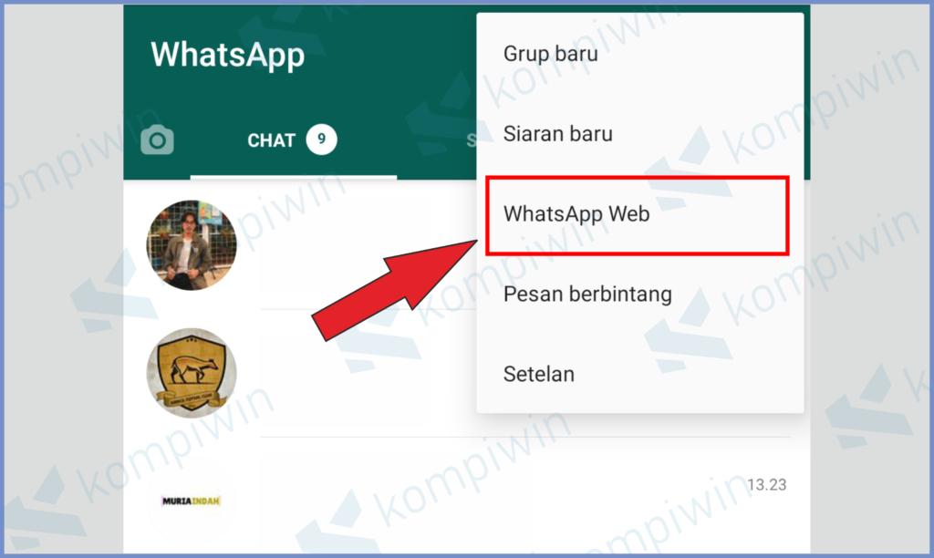 Klik Whatsapp Web Untuk Melakukan Scan QR