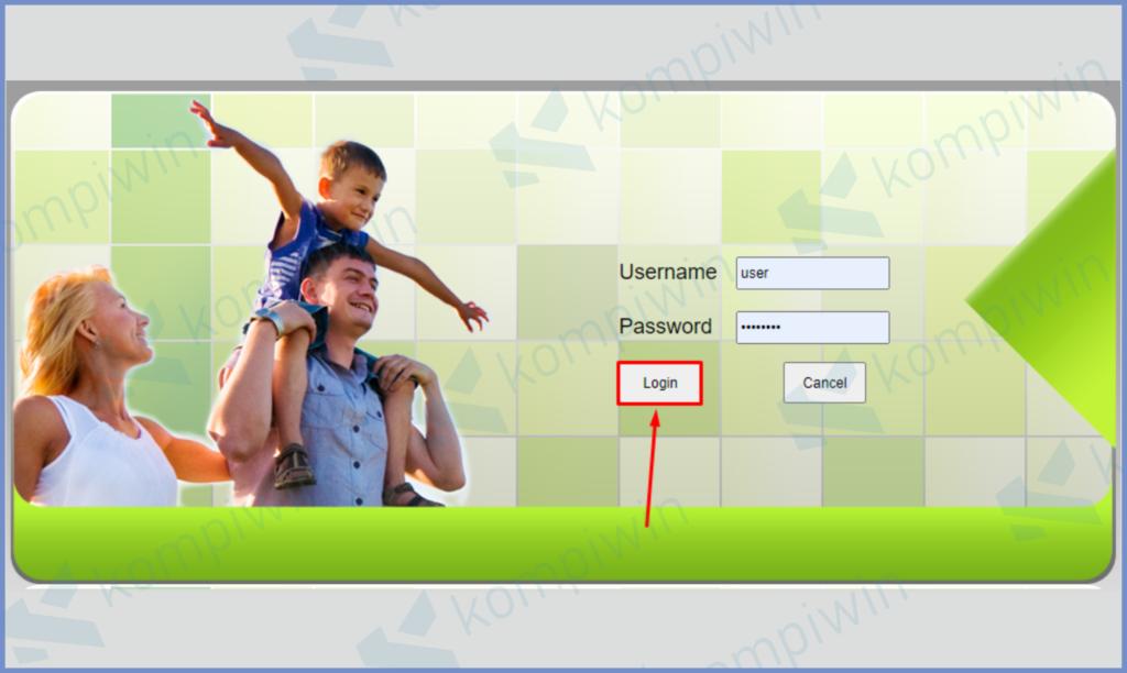 Masukkan Username Dan Passwordn