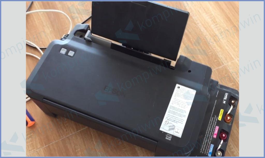 Penampakan Printer L120 Atas