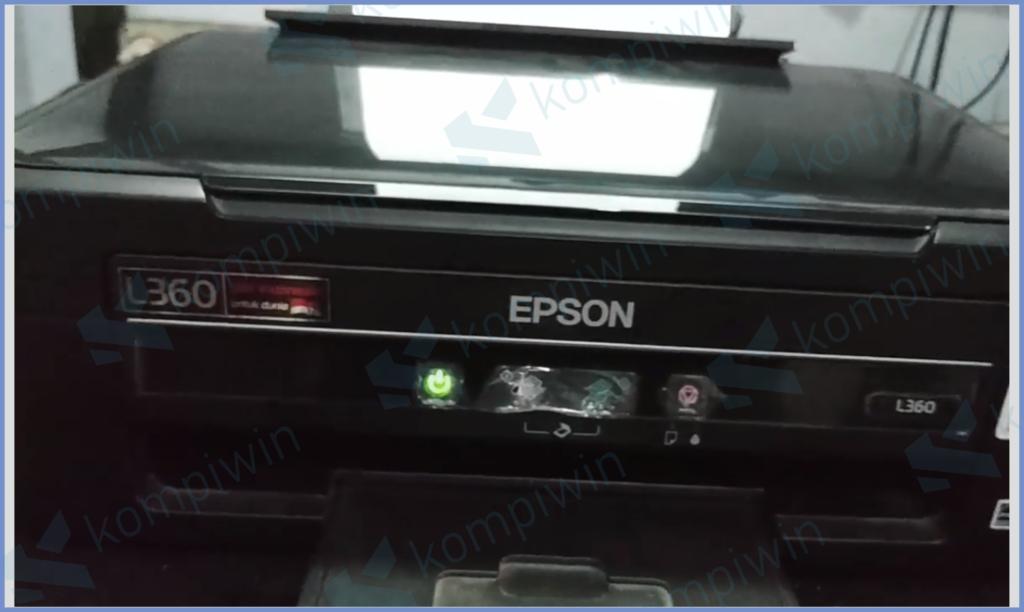 Printer Sudah Kembali Normal