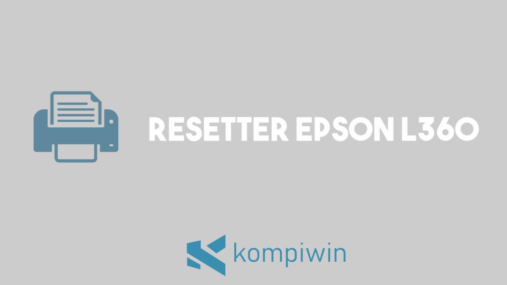 Resetter Epson L360