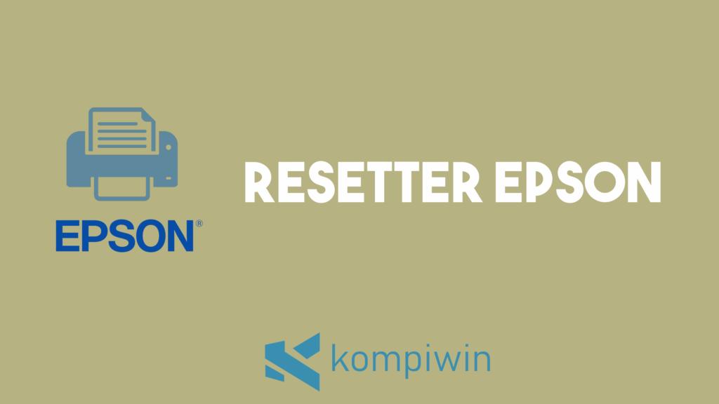 Resetter Epson 3