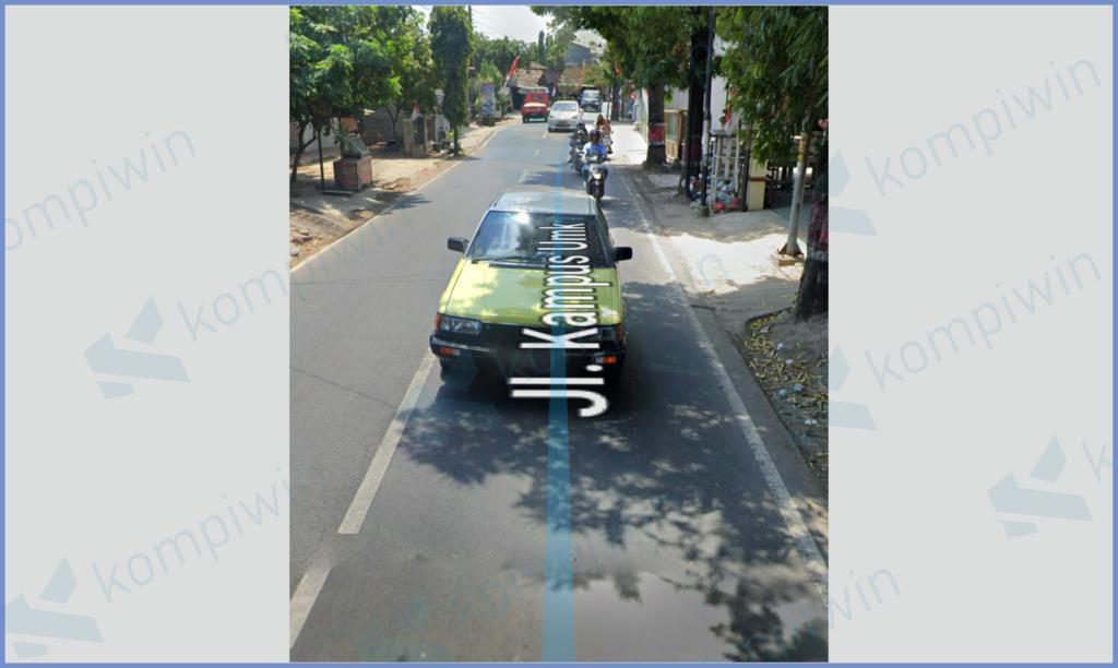 Tampilan Google Tampilan Google Street View Street View