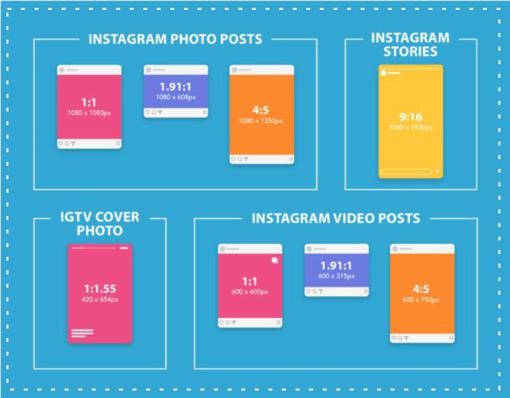 Ukuran Foto Instagram Mulai Dari Post, Story, Cover Photo, Video Post