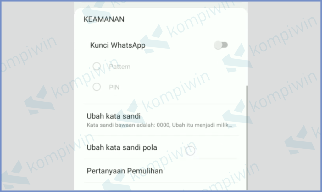 Fitur Keamanan Untuk Kunci Aplikasi Fitur Keamanan Untuk Kunci Aplikasi