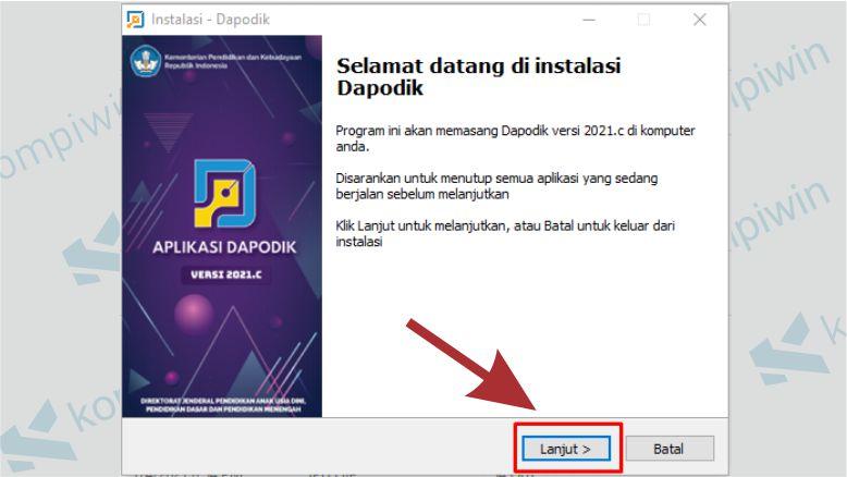 Cara Instal Dapodik 2021.c 3