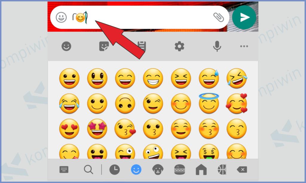 Kurang Lebih Tampilan Emoji Berambut Seperti Ini