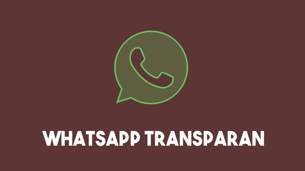 Logo Whatsapp Transparan