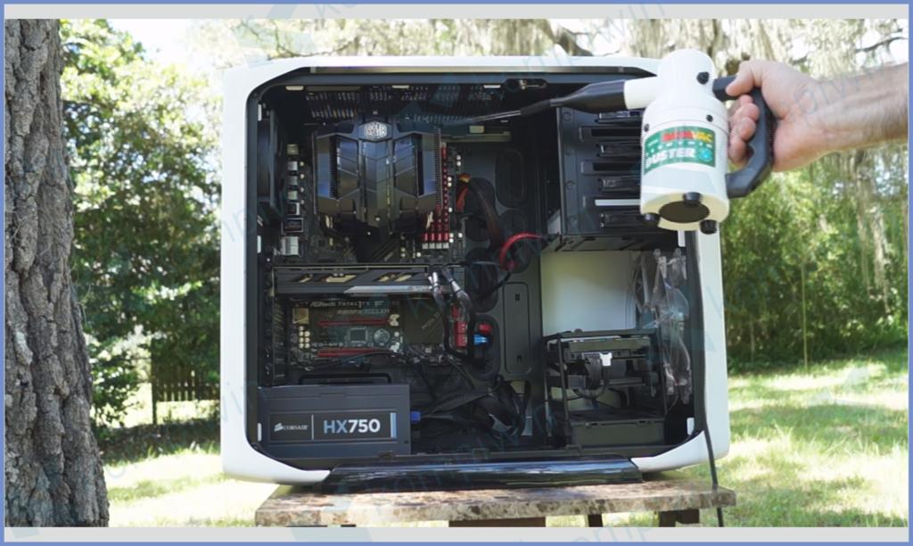 Metro Vacum ED500P Membersihkan PC
