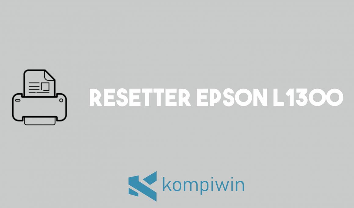 Resetter Epson L1300 1