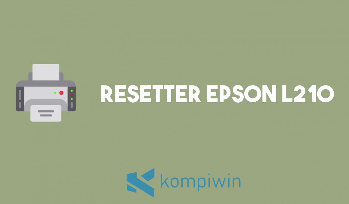Resetter Epson L210 1