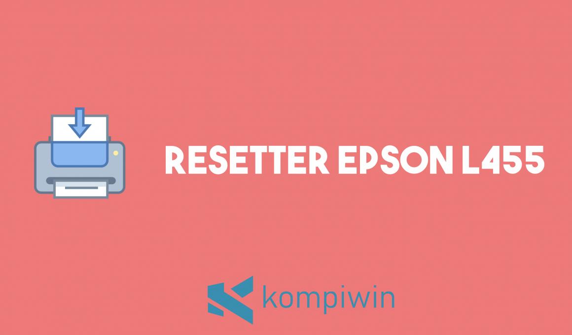 Resetter Epson L455 1