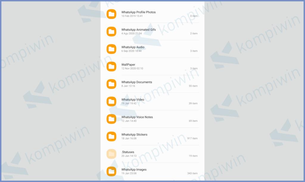Silahkan Pilih Salah Satu Folder File Yang Ingin Kamu Buka