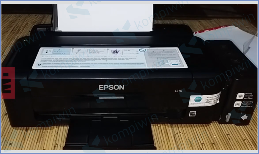 Tampilan Printer L110