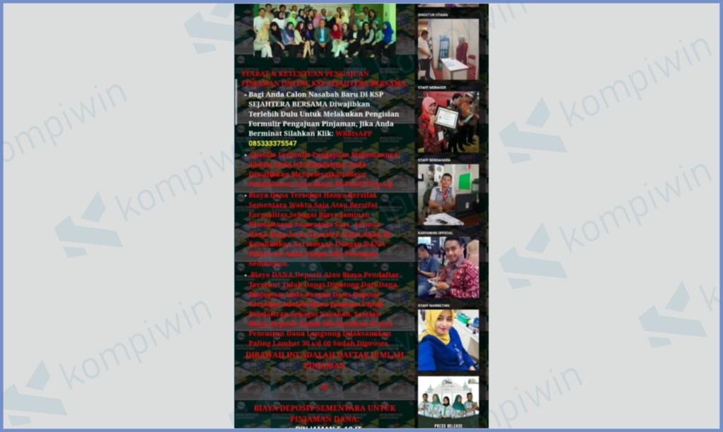 Tampilan Website Sangat Berantakan