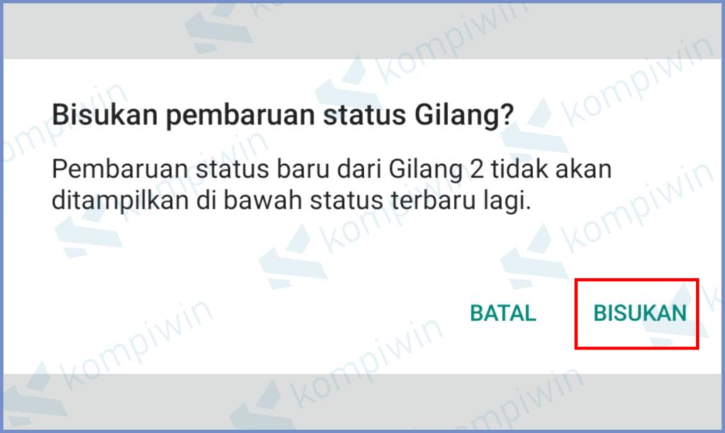 Cara Mengetahui Teman Yang Mengecualikan Status WhatsApp Kita