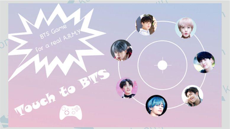 Aplikasi Game Bubble BTS