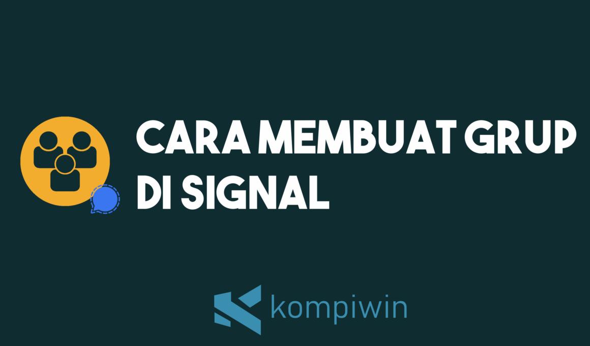 Cara Membuat Grup Di Signal 1