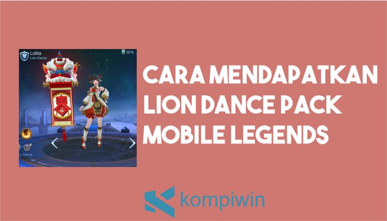 Cara Mendapatkan Lion Dance Pack Mobile Legends