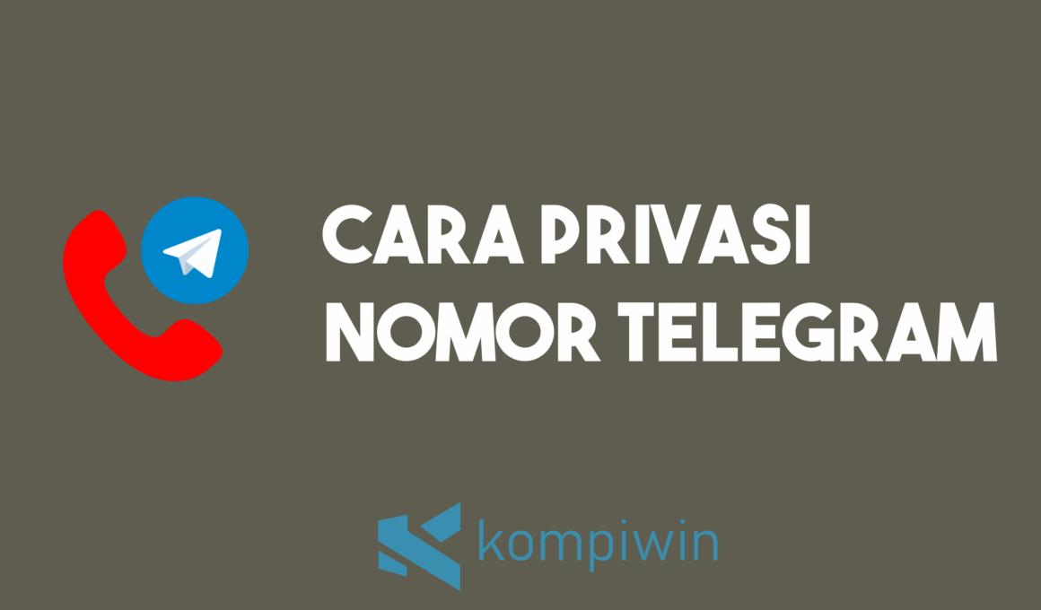 Cara Privasi Nomor Telegram 1