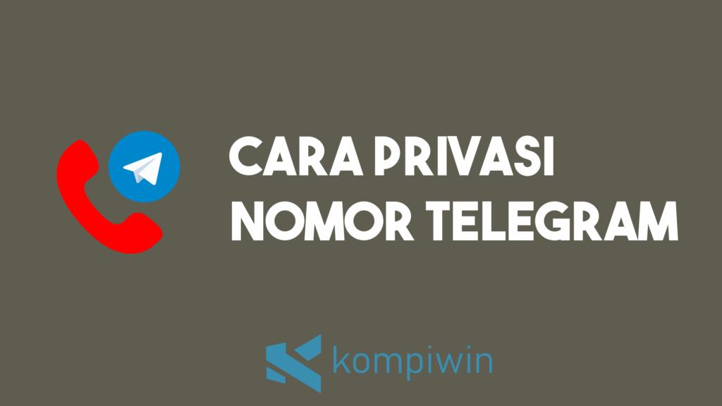 Cara Privasi Nomor Telegram 8