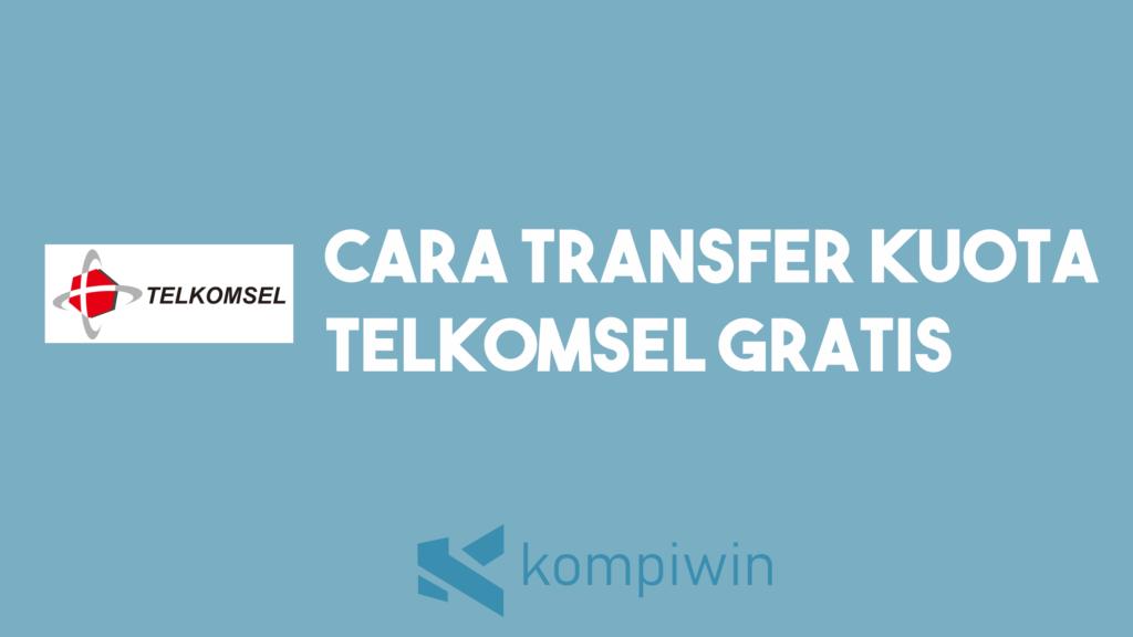 Cara Transfer Kuota Telkomsel 5 GB Dan 10 GB Gratis Tanpa Biaya 2