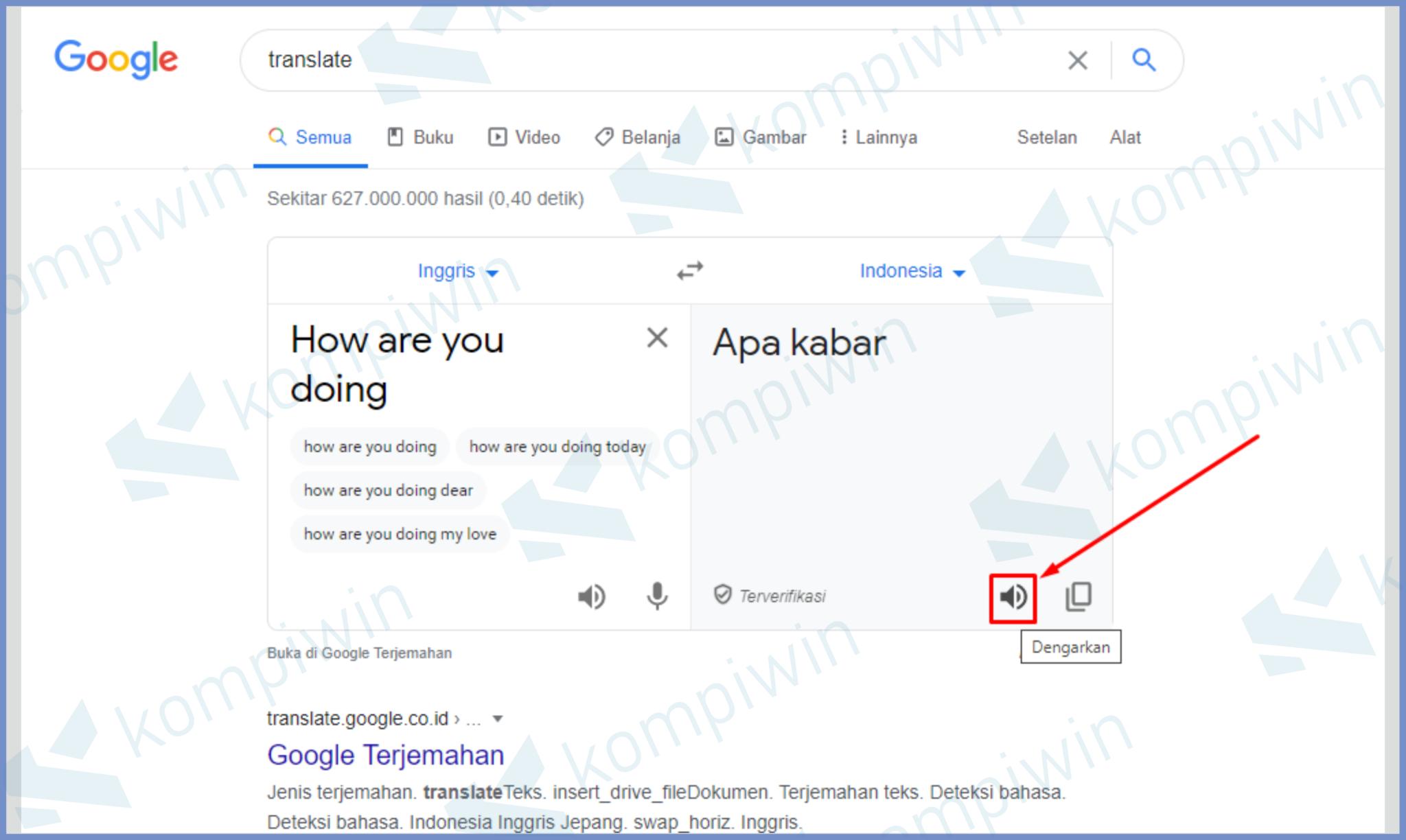 √ Cara Membuat Suara Google