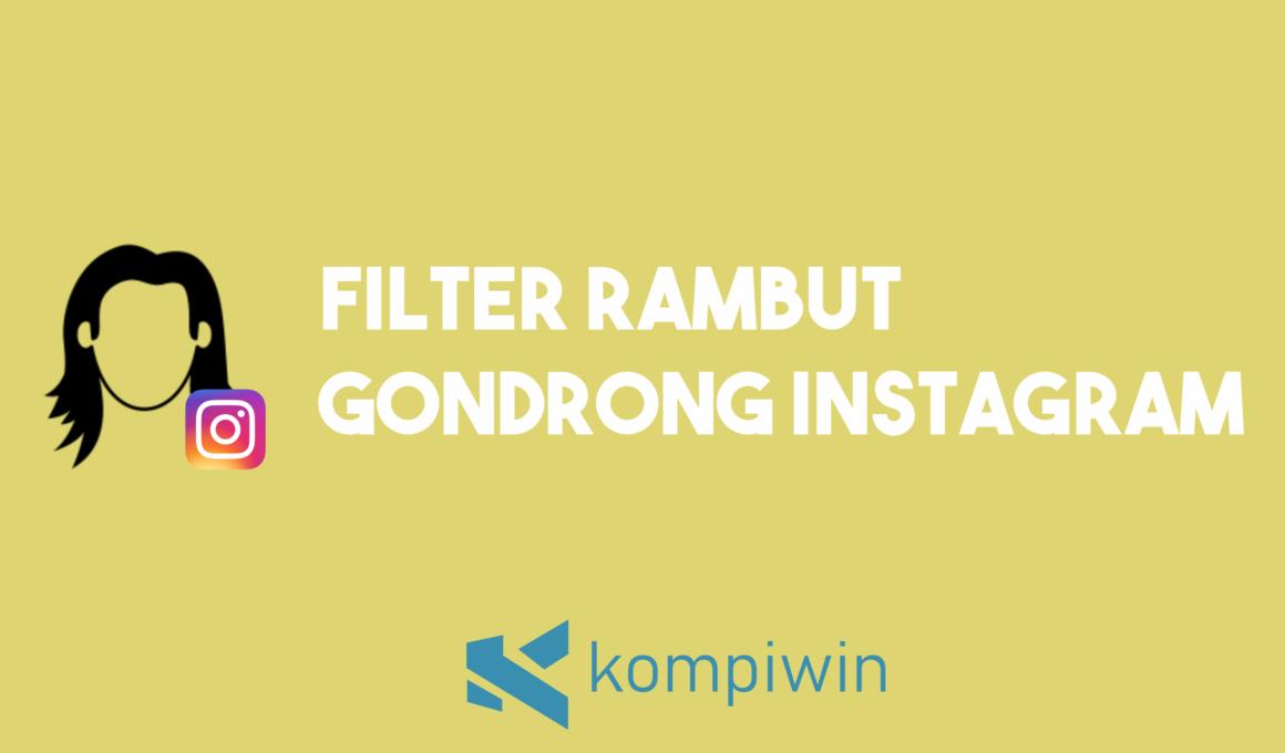 Filter Rambut Gondrong Instagram 1